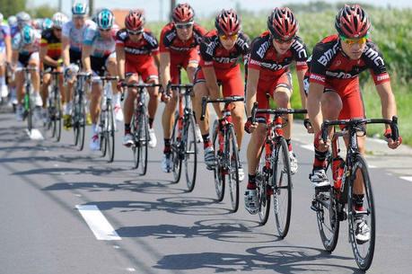 ciclista entrenando